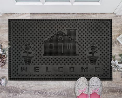 Pin Mat New Welcome