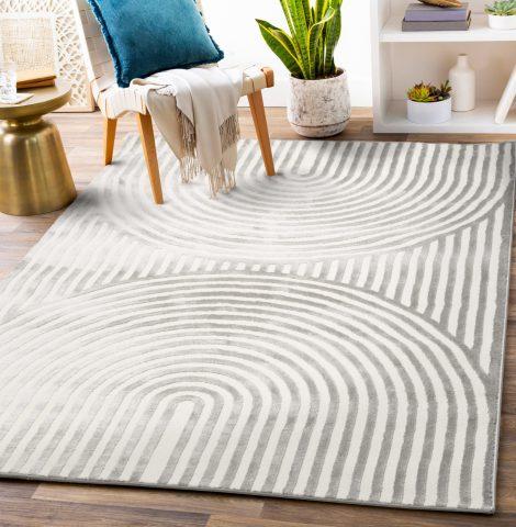Handwoven jute carpet area rug.